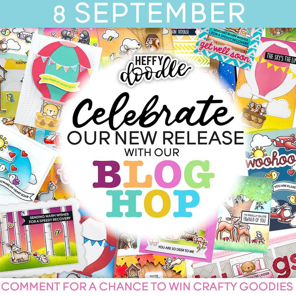 Heffy Doodle Release Day Blog Hop Graphic