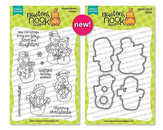Newton's Nook Designs Snow Much Cheer stamp and die sets