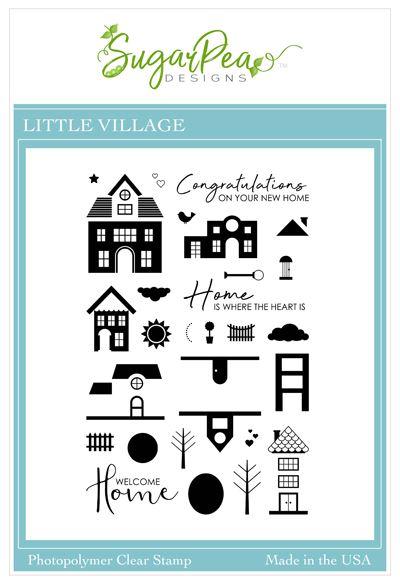 Little Village Stamp Set by SugarPea Designs