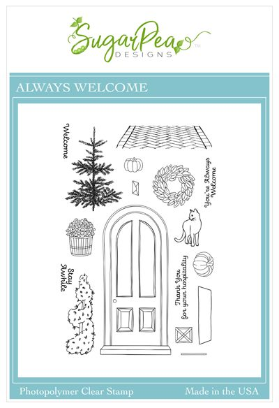 Always Welcome Stamp Set by SugarPea Designs