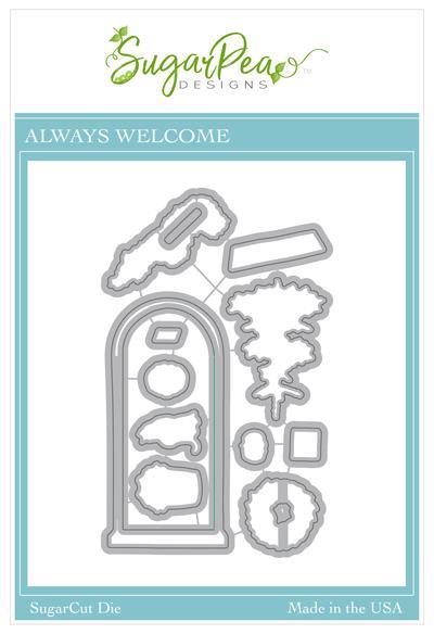 Always Welcome SugarCut by SugarPea Designs
