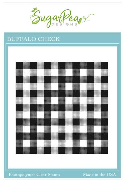 Buffalo Check Background Stamp