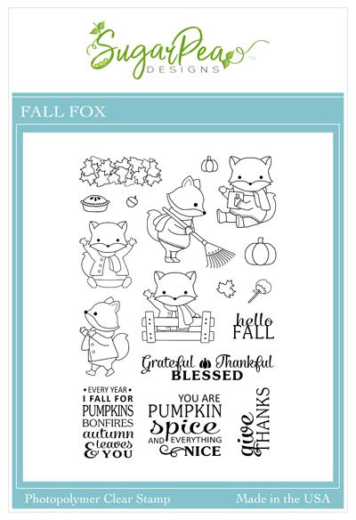 Fall Fox Stamp Set by SugarPea Designs