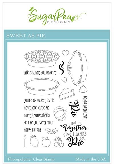 Sweet As Pie Stamp Set